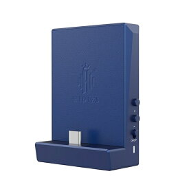 HIDIZS ヒディス ポータブルヘッドホンアンプ ブルー DH80Blue [DAC機能対応]