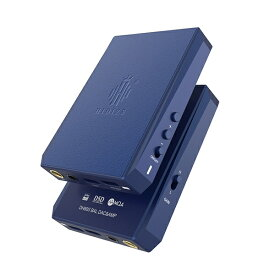 HIDIZS ヒディス ポータブルヘッドホンアンプ ブルー DH80SBlue [DAC機能対応]