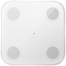 Xiaomi シャオミ Mi Body Composition Scale2 White/Mi 体組成計2 ホワイト XMTZC05HM [スマホ管理機能あり]