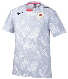 ミズノ mizuno 男女兼用トレーニングウエア 応援Tシャツ(Lサイズ/ホワイト)32MA0505 02【sports_wear】
