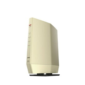 BUFFALO バッファロー Wi-Fiルーター 親機 4803+573Mbps AirStation シャンパンゴールド WSR-5400AX6S-CG [Wi-Fi 6(ax)/ac/n/a/g/b]
