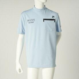 フィラゴルフ FILA GOLF メンズ トップス 半袖シャツ(Mサイズ/ブルー)741620
