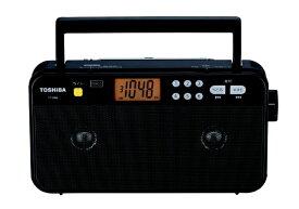 東芝 TOSHIBA AM/FMステレオホームラジオ ブラック TY-SR66-K