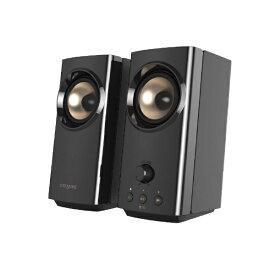 クリエイティブメディア CREATIVE SP-T60-BK PCスピーカー Bluetooth+USB-C/USB-A/3.5mm接続 Creative T60 [AC電源]