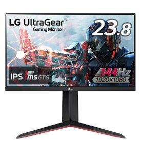 LG ゲーミングモニター UltraGear ブラック 24GN650-BAJP [23.8型 /フルHD(1920×1080) /ワイド]