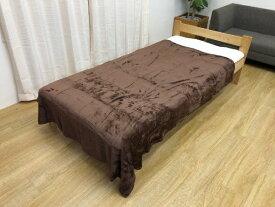 イケヒコ IKEHIKO フランネル毛布(シングルサイズ/140×190cm/ブラウン)
