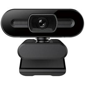 SUNEAST サンイースト SEW08-2K370 ウェブカメラ マイク内蔵 ブラック [有線]
