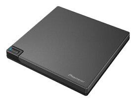 パイオニア PIONEER ポータブルブルーレイドライブ USB 3.2 Gen1 MISTY BLACK BDR-XD08BK [USB-A/USB-C]