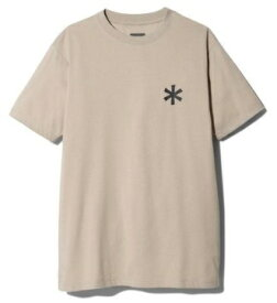 スノーピーク snow peak 男女兼用 Tシャツ・カットソー Back Printed Logo Tshirt S Beige SPS-TS-21SU00202BG