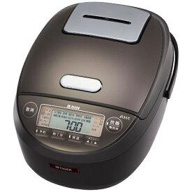 タイガー TIGER 炊飯器 ダークブラウン JPK-S100TD [5.5合 /圧力IH]