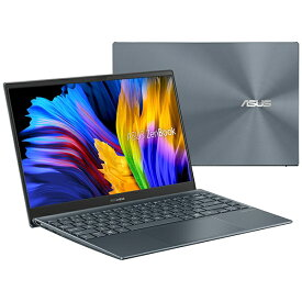 ASUS エイスース ノートパソコン ZenBook 13 OLED UX325EA【有機EL】 パイングレー UX325EA-KG411TS [13.3型 /intel Core i5 /メモリ:16GB /Optane:32GB /SSD:512GB /2021年6月モデル]