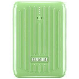 ZENDURE ゼンデュア SUPERMini LE ZDSM10PDL-GN [10000 /Lightning /USB-C /1ポート /USB Power Delivery対応 /充電タイプ]