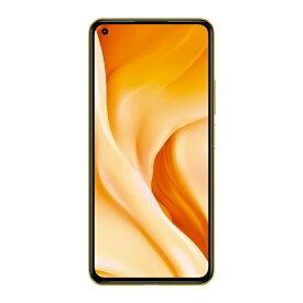 Xiaomi シャオミ 【おサイフケータイ】Xiaomi Mi 11 Lite 5G シトラスイエロー「Mi11Lite5GCitrusYellow」Snapdragon 780 6.55型 メモリ/ストレージ: 6GB/128GB nanoSIM×2 DSDV対応ドコモ / au / ソフトバンクSIM対応 SIMフリースマートフォン【rbsp2107】