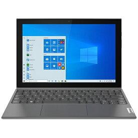 レノボジャパン Lenovo ノートパソコン IdeaPad Duet 350i グラファイトグレー 82AT00DNJP [10.1型 /intel Celeron /メモリ:4GB /eMMC:128GB /2021年7月モデル]