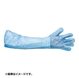 丸善化工 MARUZEN KAKO チョイながテブクロ(30枚入) BT-3 S ブルー <STBI903>