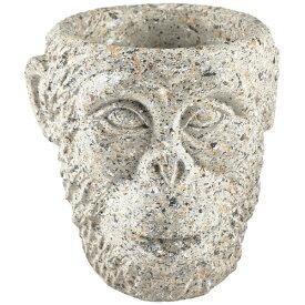 VIILA COLLECTION ビラコレクション プランター フラワーポット 植木鉢 Gorilla D19×H19cm グレー 12457