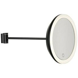 ゾーン ZONE LEDライティング メイクアップウォールミラー ブラック 10918