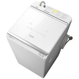 日立 HITACHI タテ型洗濯乾燥機 ビートウォッシュ ホワイト BW-DKX120G-W [洗濯12.0kg /乾燥6.0kg /ヒーター乾燥(水冷・除湿タイプ) /上開き][洗濯機 12kg]