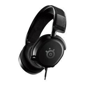 STEELSERIES スティールシリーズ 61487 ゲーミングヘッドセット Arctis Prime ブラック [φ3.5mmミニプラグ /両耳 /ヘッドバンドタイプ]