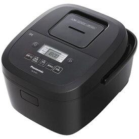 パナソニック Panasonic 炊飯器 ブラック SR-FE101-K [5.5合 /IH]