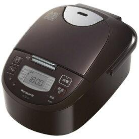 パナソニック Panasonic 炊飯器 ブラウン SR-FD101-T [5.5合 /IH]