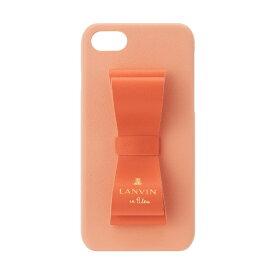 LANVIN en Bleu ランバンオンブルー LANVIN en Bleu - Slim Wrap Case 2 Tone for iPhone SE (第2世代)/8/7 [ Red × Peach Pink ] LANVIN en Bleu ランバンオンブルー