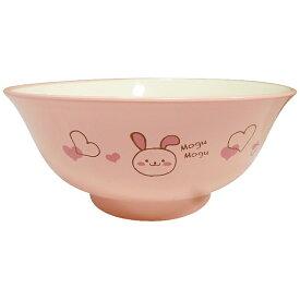 アサヒコウヨウ 子供 麺丼 もぐもぐうさぎ ピンク KD206