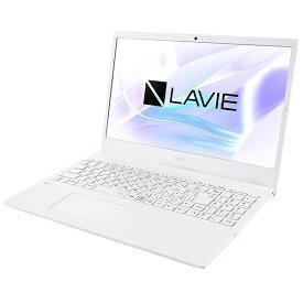 NEC エヌイーシー PC-N156CAAW ノートパソコン LAVIE N15シリーズ パールホワイト [15.6型 /AMD Ryzen 7 /メモリ:8GB /SSD:256GB /2021年7月モデル]