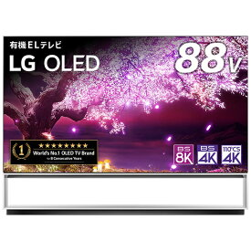 LG 有機ELテレビ OLED88Z1PJA [88V型 /8K対応 /BS 8Kチューナー内蔵 /YouTube対応 /Bluetooth対応][テレビ 88型 88インチ]