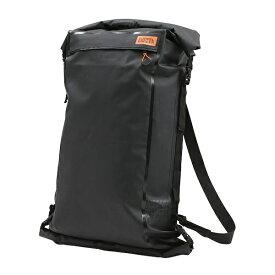 ドッペルギャンガー バイク用ターポリンツーリングシートバッグ(大容量・確実な固定) 60L ブラック DBT427-BK