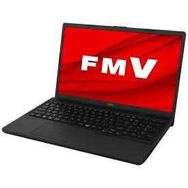富士通 FUJITSU ノートパソコン FMV Lite 3315/F オーシャンブラック FMV3315FB [15.6型 /intel Celeron /メモリ:4GB /SSD:256GB /2021年夏モデル]
