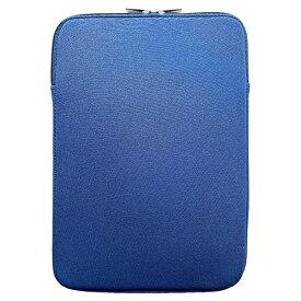 ブルー Blue ノートパソコン対応[〜11.6インチ] クッションケース スリムタイプ M ブルー M-CU01BL