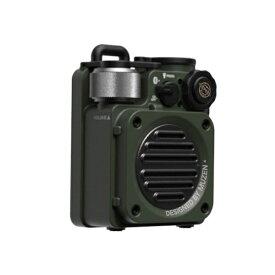 MUZEN ブルートゥーススピーカー Wild mini Jungle green WILDMINIJUNGLEGREEN [防水 /Bluetooth対応]