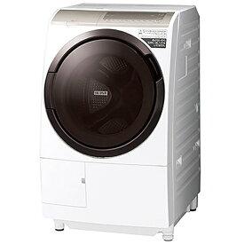 日立 HITACHI ドラム式洗濯乾燥機 BD-SV110GL-W [洗濯11.0kg /乾燥6.0kg /ヒーター乾燥(水冷・除湿タイプ) /左開き][ドラム式 洗濯機 11kg]【2111_rs】