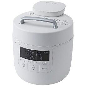 siroca シロカ 電気圧力鍋 おうちシェフ PRO ホワイト SP-2DM251W[SP2DM251W]【rb_cooking_cpn】