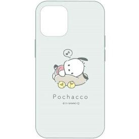 グルマンディーズ gourmandise サンリオキャラクターズ iPhone 13 mini対応 5.4 inch ソフトケース ポチャッコ ポチャッコ SANG-143PC