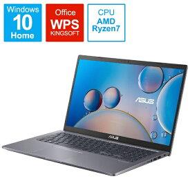ASUS エイスース ノートパソコン M515UA スレートグレー M515UA-BQ296T [15.6型 /AMD Ryzen 7 /メモリ:8GB /SSD:512GB /2021年8月モデル]