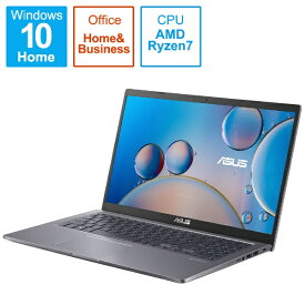 ASUS エイスース ノートパソコン M515UA スレートグレー M515UA-BQ296TS [15.6型 /AMD Ryzen 7 /メモリ:8GB /SSD:512GB /2021年8月モデル]