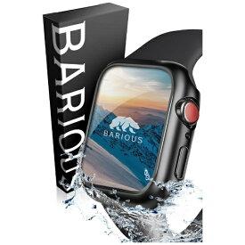 BARIOUS べアリアス BARIGUARD3 FOR APPLEWATCH 44MM 耐水 PCケース BARIOUS マットブラック 0115-44MM-BLACK