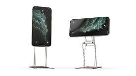 ONED Majextand M 人間工学に基づくスマートフォン/タブレット用スタンド(カラー:シルバー) MJX-M100