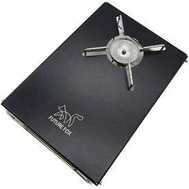 FUREFOX(フューチャーフォックス) SOTO ST-330 レギュレーターストーブ 専用 シングルバーナー アルミ テーブル(ブラック)