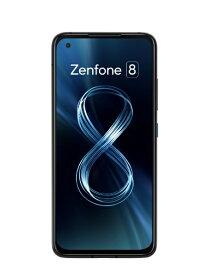ASUS エイスース Zenfone 8 オブシディアンブラック「ZS590KS-BK256S16」【防水防塵・おサイフケータイ対応】 Snapdragon 888 5.9型 メモリ/ストレージ: 16GB/256GB nanoSIMx2 DSDV ドコモ/au/ソフトバンク対応 SIMフリースマートフォン