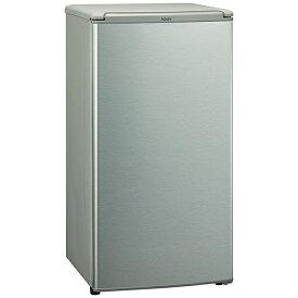 AQUA アクア 冷蔵庫 ブラッシュシルバー AQR-8K-S [1ドア /右開きタイプ /75L]《基本設置料金セット》