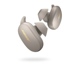 BOSE ボーズ フルワイヤレスイヤホン QuietComfort Earbuds Sandstone QCEARBUDSSNS [リモコン・マイク対応 /ワイヤレス(左右分離) /Bluetooth /ノイズキャンセリング対応]