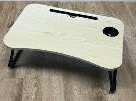 【2021年10月09日発売】 スリーアールソリューション ノートパソコンテーブル[〜15インチ] 折りたたみ ローテーブル INOVA ライトナチュラル 3R-OKT04LN