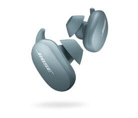 BOSE ボーズ フルワイヤレスイヤホン QuietComfort Earbuds Stone Blue QCEARBUDSBLU [リモコン・マイク対応 /ワイヤレス(左右分離) /Bluetooth /ノイズキャンセリング対応]