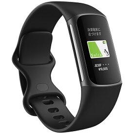Fitbit フィットビット 【Suica対応】Fitbit Charge5 GPS搭載フィットネストラッカー L/Sサイズ ブラック FB421BKBK-FRCJK