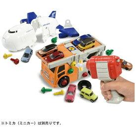 【2021年10月】 タカラトミー TAKARA TOMY トミカDIY くみかえアクション!キャリアカー&カーゴジェットセット【発売日以降のお届け】