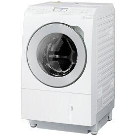 パナソニック Panasonic ドラム式洗濯乾燥機 LXシリーズ マットホワイト NA-LX125AL-W [洗濯12.0kg /乾燥6.0kg /ヒートポンプ乾燥 /左開き]