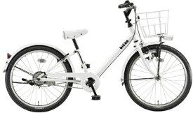 ブリヂストン BRIDGESTONE 22型 子供用自転車 bikke j ビッケ j(E.XBKホワイト/シングルシフト) BKJ222【組立商品につき返品不可】 【代金引換配送不可】
